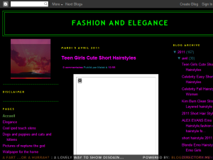 FASHION AND ELEGANCE Web Domain Authority Directory
