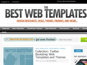 Best Web Templates 2011 Web Domain Authority Directory