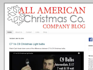 All American Christmas Co. Blog Web Domain Authority Directory