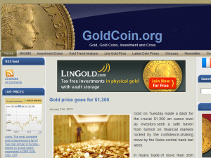 Goldcoin Web Domain Authority Directory