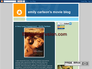 Emily Carlson's Movie Page Web Domain Authority Directory