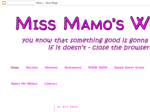 Miss Mamo's World Web Domain Authority Directory