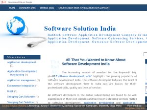 Software Solution News Web Domain Authority Directory