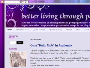better living through pedagogy Web Domain Authority Directory