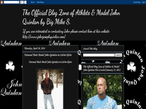 The Official Blog of Athlete & Model John Quinlan Web Domain Authority Directory