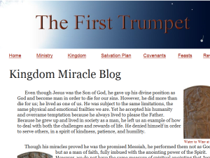 Miracles Blog Web Domain Authority Directory