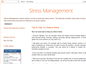 Stress Management Web Domain Authority Directory