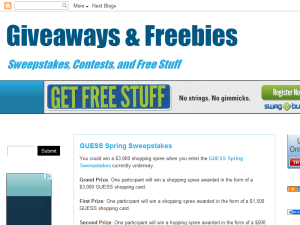 Giveaways & Freebies Web Domain Authority Directory