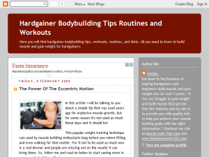 Gain Weight and Build Muscle for Hargainers Web Domain Authority Directory