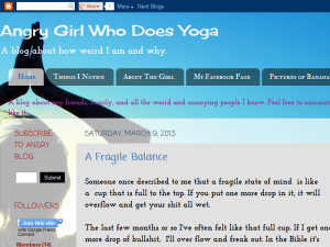 A Blog From an Angry Girl Who Does Yoga Web Domain Authority Directory