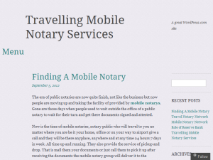 Mobile Notary Network Blog Web Domain Authority Directory