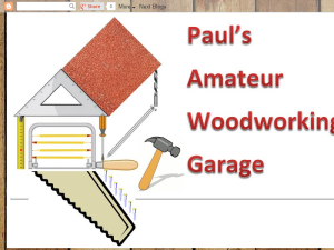 Paul's Amateur Woodworking Garage Web Domain Authority Directory