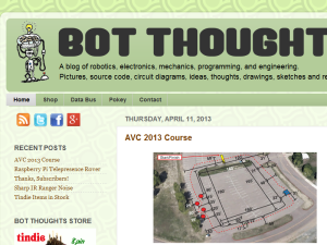 Bot Thoughts Web Domain Authority Directory