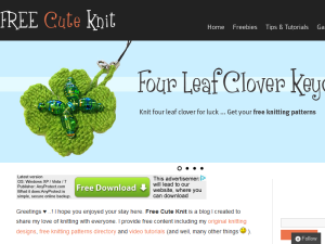 FREE CUte Knitting Patterns | How to Knit Tutorials | Fun & Easy Knitting Projects Web Domain Authority Directory