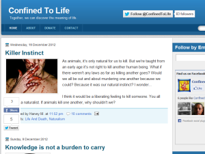 Confined To Life Web Domain Authority Directory