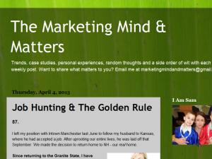 The Marketing Mind and Matters Web Domain Authority Directory