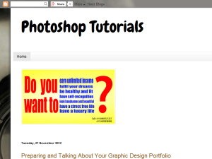 Photoshop Tutorials Web Domain Authority Directory