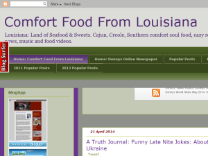 Comfort Food From Louisiana Web Domain Authority Directory