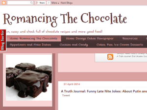 Romancing The Chocolate Web Domain Authority Directory