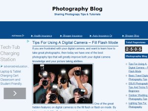 Photography Blog Web Domain Authority Directory