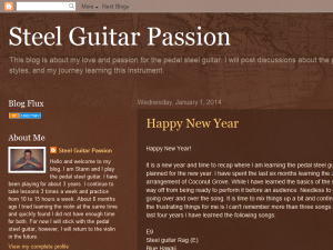 Steel Guitar Passion Web Domain Authority Directory