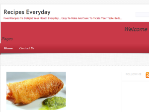 Recipes Everyday Web Domain Authority Directory