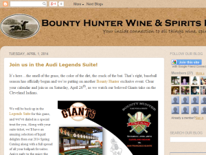 Bounty Hunter Wine & Spirits Blog