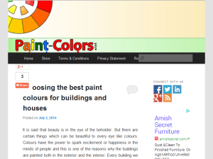 Paint Colors Web Domain Authority Directory