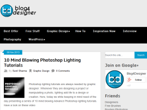 Graphic design Blog Web Domain Authority Directory