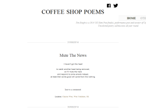 Coffee Shop Poems Web Domain Authority Directory