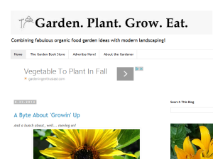 Garden. Plant. Grow. Eat. Web Domain Authority Directory