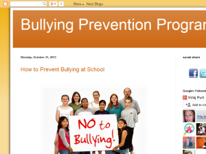 Bullying Prevention Programs Web Domain Authority Directory