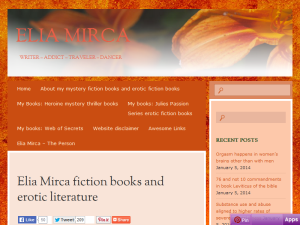 Elia Mirca fiction books and erotic literature blog Web Domain Authority Directory