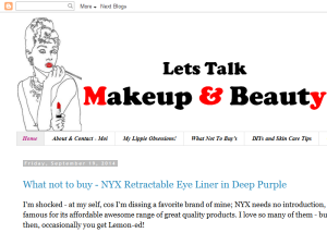 Reviews, Wishes and Fun on makeup and beauty Web Domain Authority Directory
