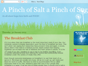 A Pinch of Salt a Pinch of Sugar Web Domain Authority Directory