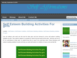 Self Affirmations Web Domain Authority Directory