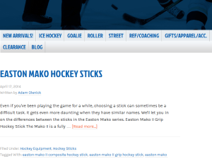 The World's Most Important Hockey Blog Web Domain Authority Directory