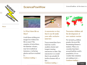 SciencePowWow Web Domain Authority Directory