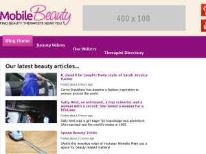 Mobile Beauty UK Web Domain Authority Directory