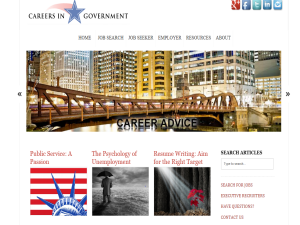 Careers In Government - GOVTALK Web Domain Authority Directory