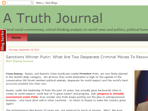 A Truth Journal Web Domain Authority Directory