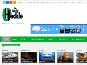 The Daily Heckle Web Domain Authority Directory