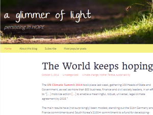 Inspiring Hope - a glimmer of light Web Domain Authority Directory