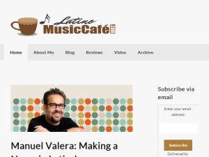 Latino Music Cafe Web Domain Authority Directory