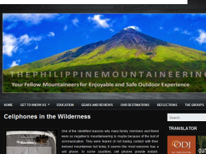 The Philippine Mountaineering Web Domain Authority Directory