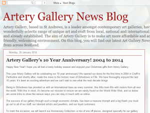 Artery Gallery News Web Domain Authority Directory