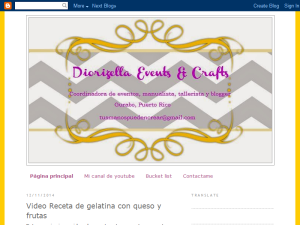 Diorizella Events and Crafts Web Domain Authority Directory