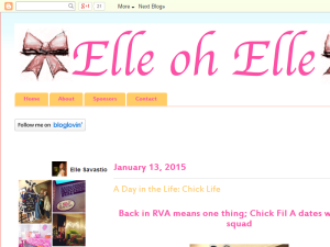 Elle oh Elle: Life and Style Blog Web Domain Authority Directory