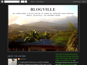 BLOGVILLE Web Domain Authority Directory