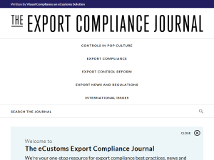 Export Compliance Journal, The Web Domain Authority Directory